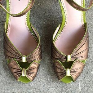 Anthropologie Shoes - Anthropologie | Leifsdottir | Peep Toe Heels